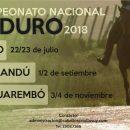 Ya están las fechas del Calendario de Enduro 2018
