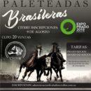 2019 Paleteadas Brasileras en Expo Prado