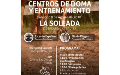 2018 Visita y charla en el Centro de Doma La Soleada