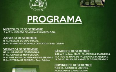 2018 Programa Expo Prado 2018