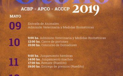 2019, Expo Gran Nacional de Otoño en Paraguay